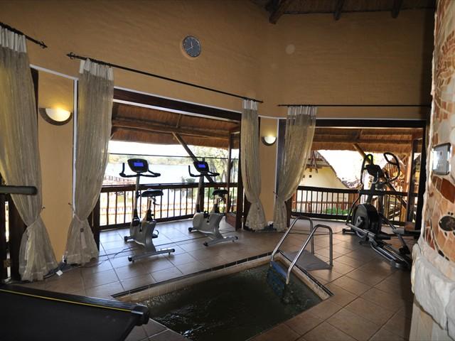 The gym at David Livingstone