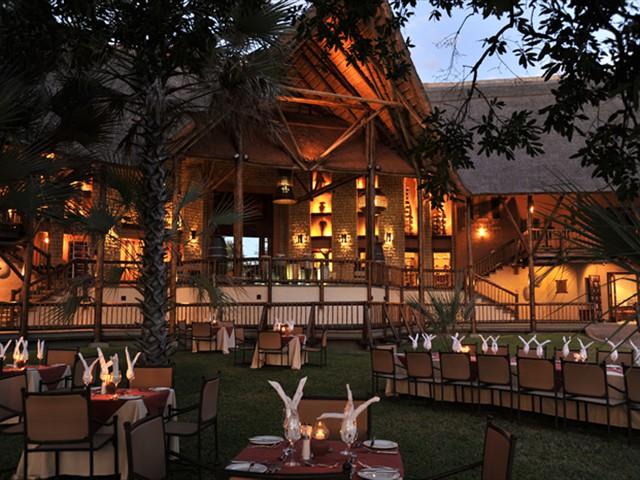 Evening view from the Zambezi River