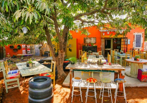 Dusty Road township dining experience in Victoria Falls, Zimbabwe