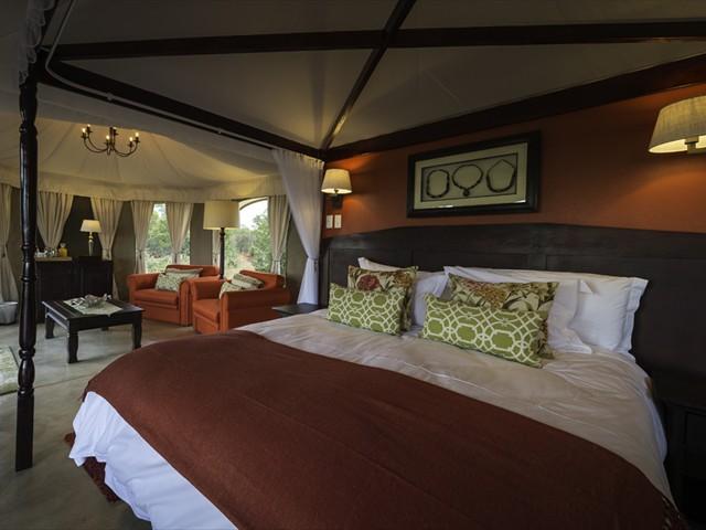Tastefully decorated suites