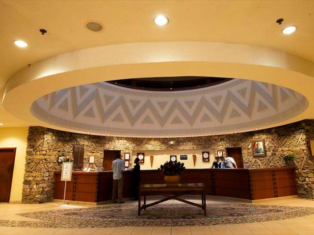 Elephant Hills Hotel reception
