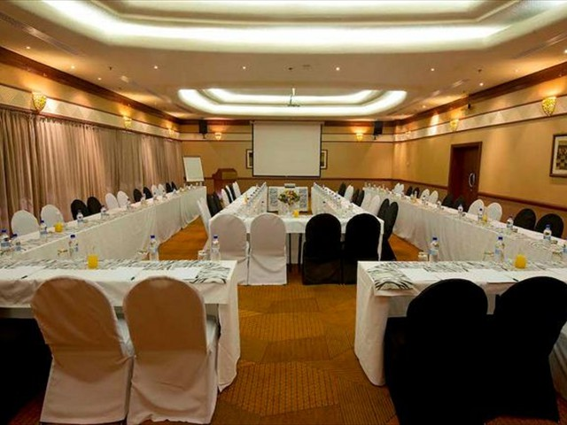 Conference facilities at Elephant Hills Resort