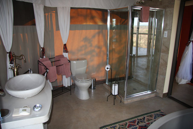 Luxury en-suite facilities