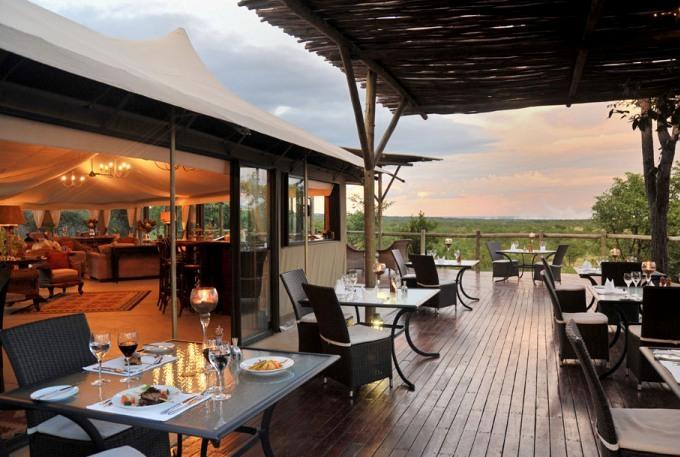 Luxury Accommodation at Elephant Camp - Victoria Falls, Zimbabwe