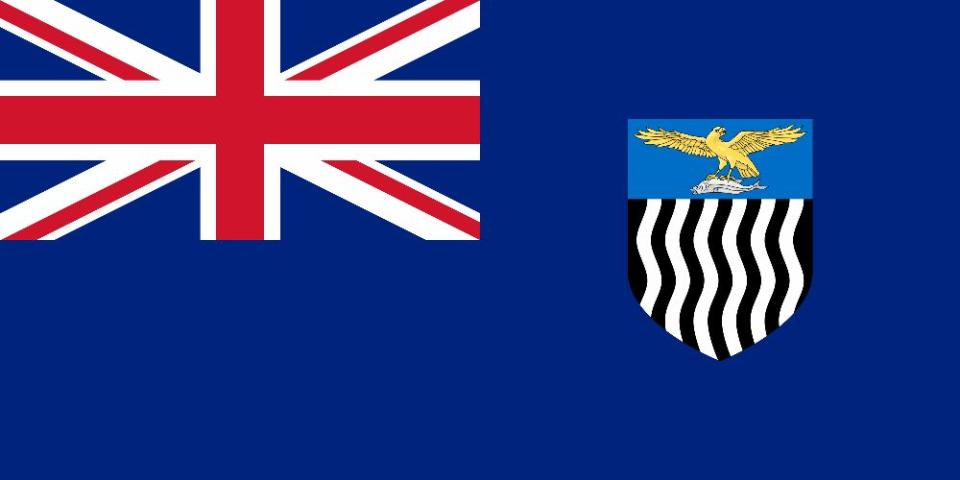 Flag of Northern Rhodesia from 1939 to 1953