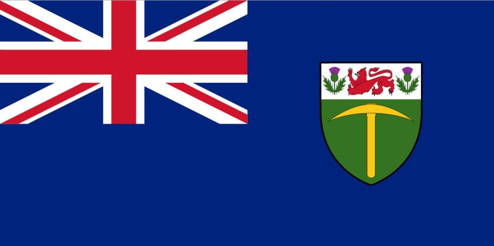 Flag of Southern Rhodesia 1923 to 1964