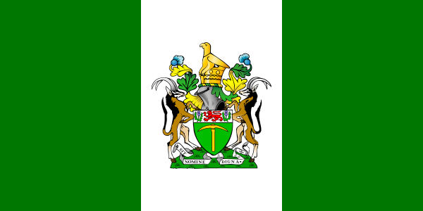 Flag of Southern Rhodesia 1968 to 1979