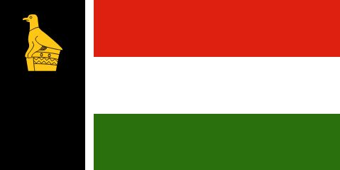 Flag of Southern Rhodesia 1979 to 1980