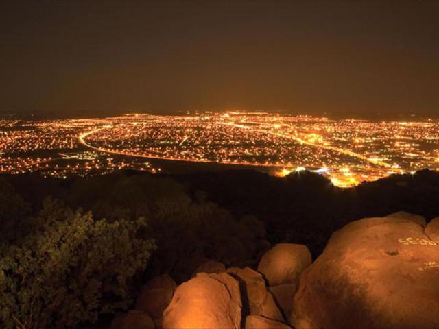 Gaborone at night