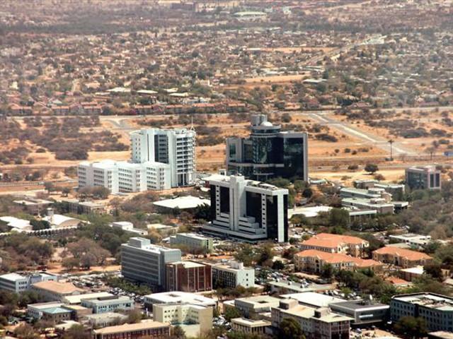 Botswana's capital city - Gaborone