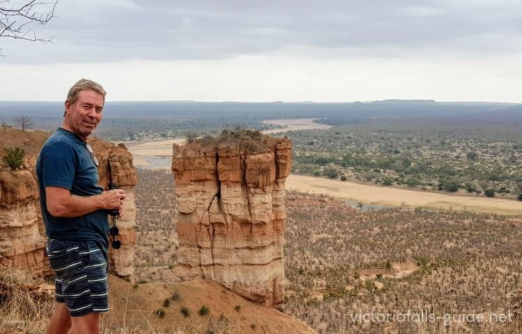 The Chilojo cliffs top view point