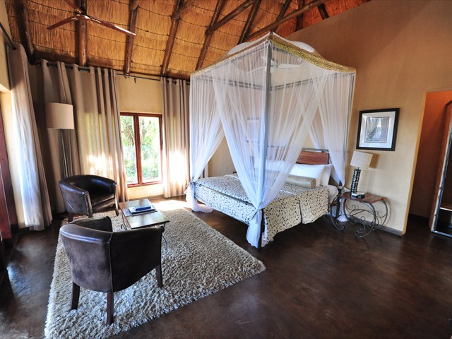 Luxurious rooms at Gorges Lodge