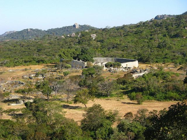 Great Zimbabwe ruins - ancient Zimbabwe history, architechture, culture