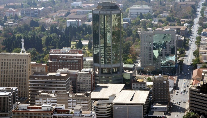 City of Harare in Zimbabwe