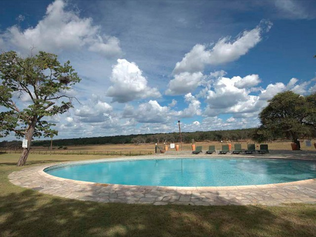 Poolside at Hwange Safari Lodge - Zimbabwe