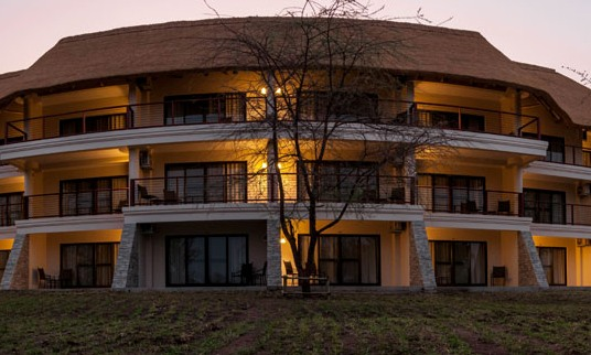 New wing at Ilala Lodge, Victoria Falls