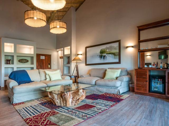 ...spacious lounge
