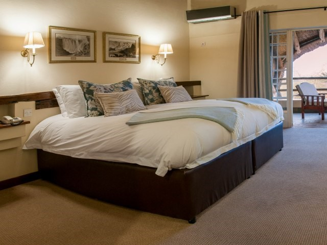 Standard double room at Ilala Lodge, Victoria Falls - Zimbabwe
