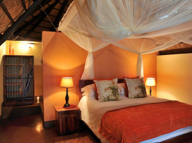 Zambezi National Park riverside accommodation near Victoria Falls, Zimbabwe. Imbabala Safari Lodge