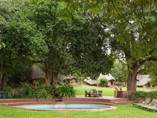 Imbabala Lodge by the Zambezi River near Victoria Falls, Zimbabwe. Great bargain with flights and a 3 night stay.