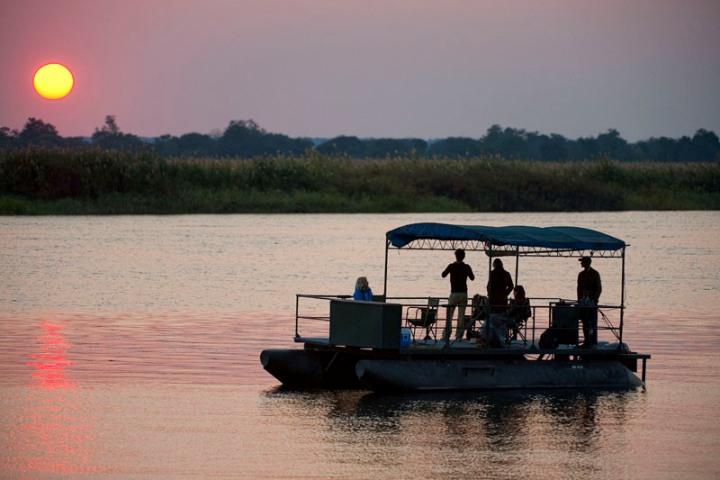 Zambezi River safari at Imbabala Zambezi Safari Lodge - Zimbabwe