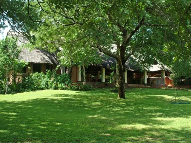 Main lodge area