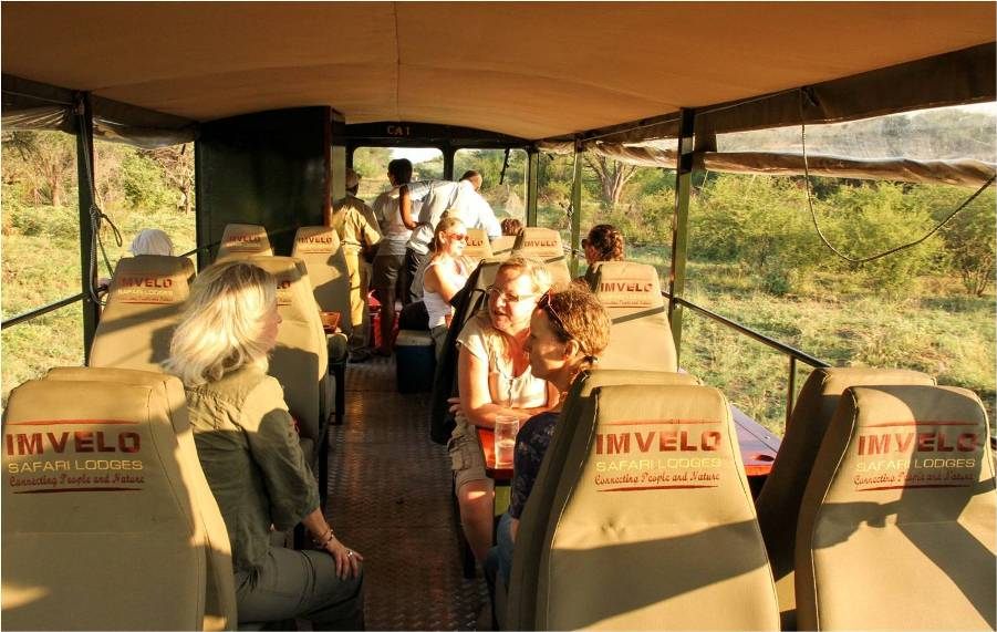 Inside the Elephant Express