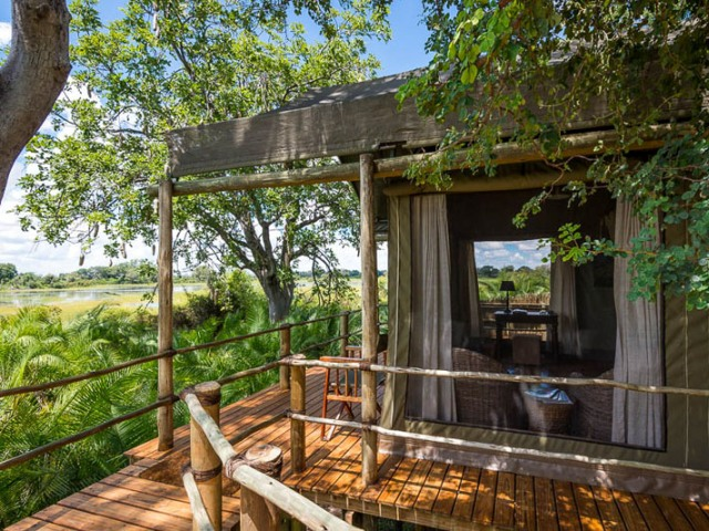 Accommodation in the Okavango