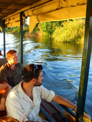 Package a jetboat cruise on the Zambezi River with other amazing Victoria Falls activities