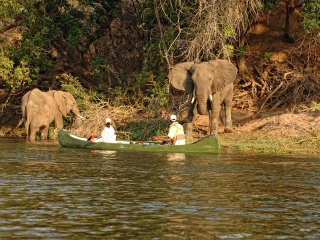 ...canoeing