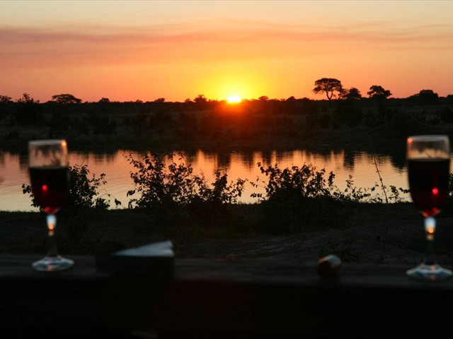 Sunset at Kapula Camp in Hwange National Park - Zimbabwe
