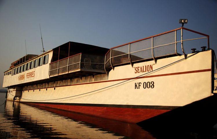 The Sealion of Lake Kariba - affordable commercial ferry from Mlibizi to Kariba
