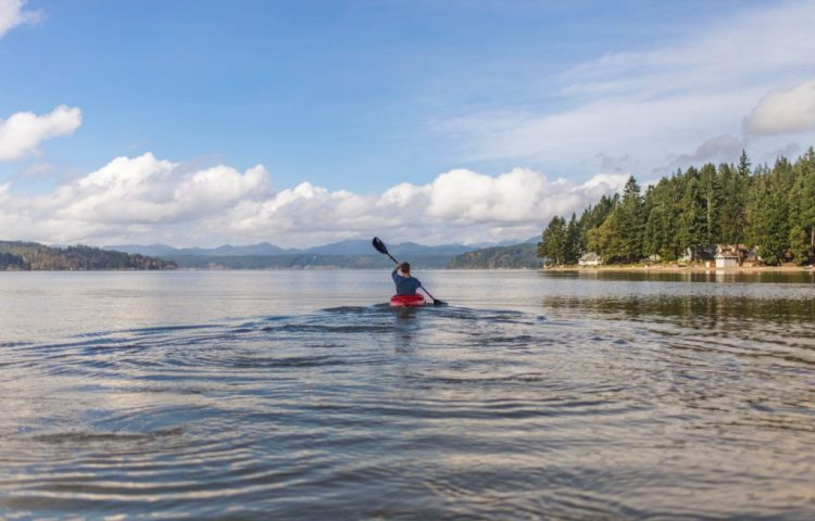 Kayaking is great for your physical and mental health