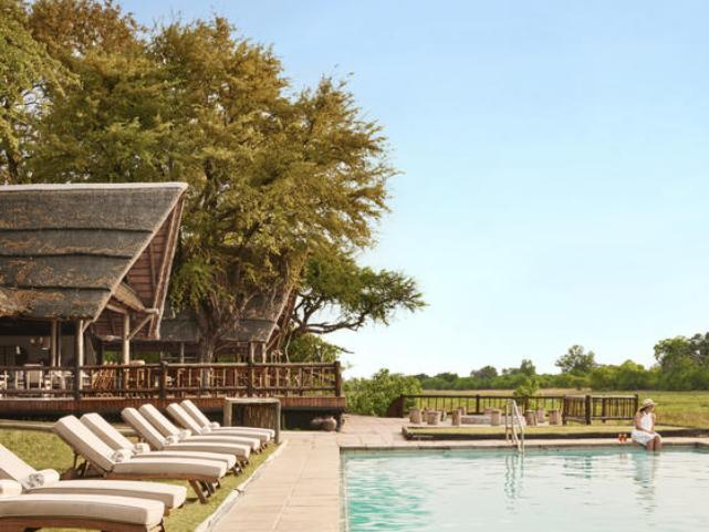Eagle Island Lodge in the Okavango Delta, Botswana