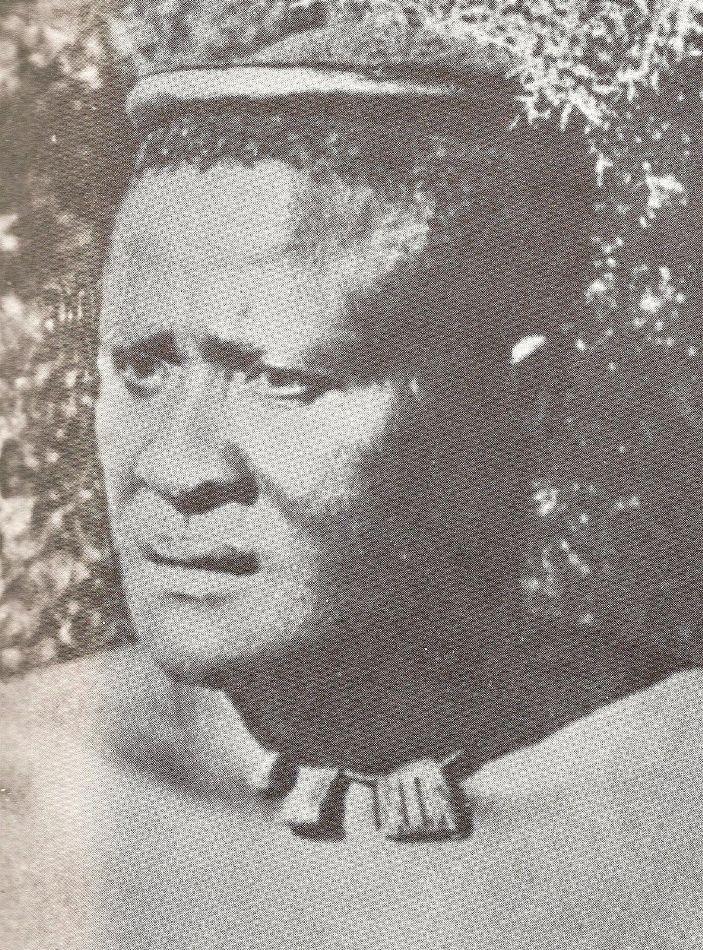 King Lobengula of Matebeleland