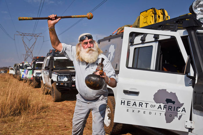 Kingsley Holgate on the Heart of Africa Expidition