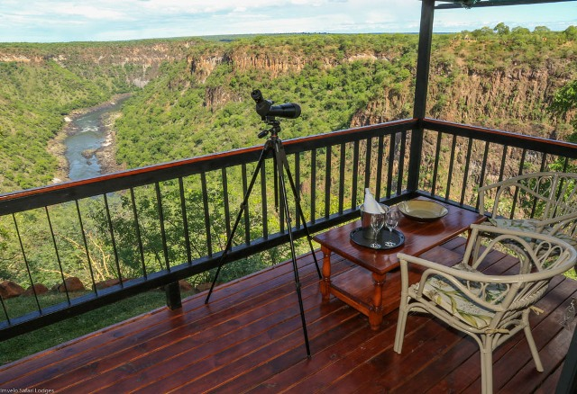 Little Gorges room overlooking the Zambezi Gorges, Zimbabwe