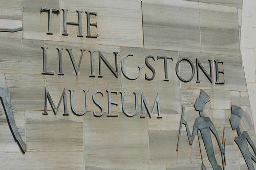 The David Livingstone Museum in Livingstone, Zambia near the Victoria Falls