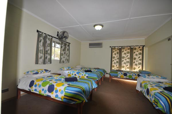 Domitory room with 5 beds