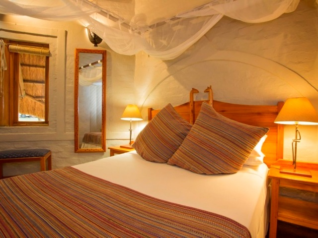 Double room of a Lokuthula lodge
