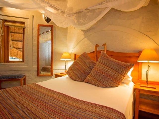 Double room of a Lokuthula lodge