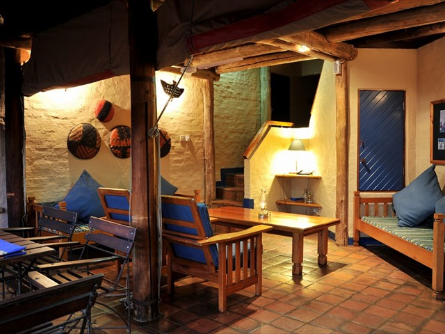 The lounge of a 2 bedroomed lodge
