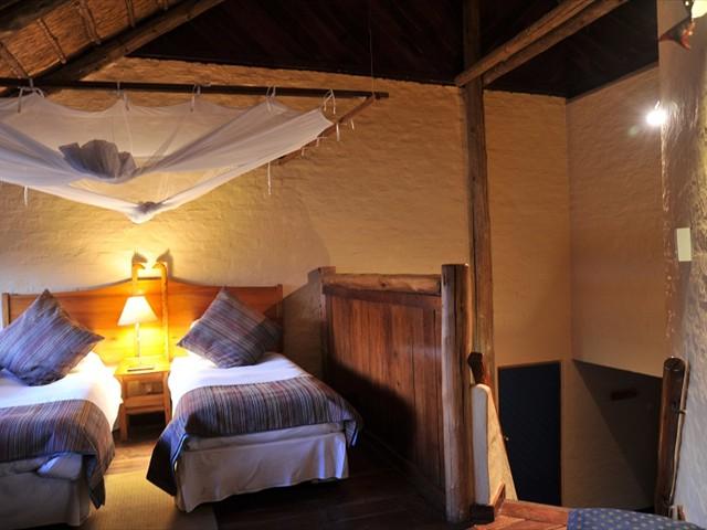 Twin room of a Lokuthula lodge