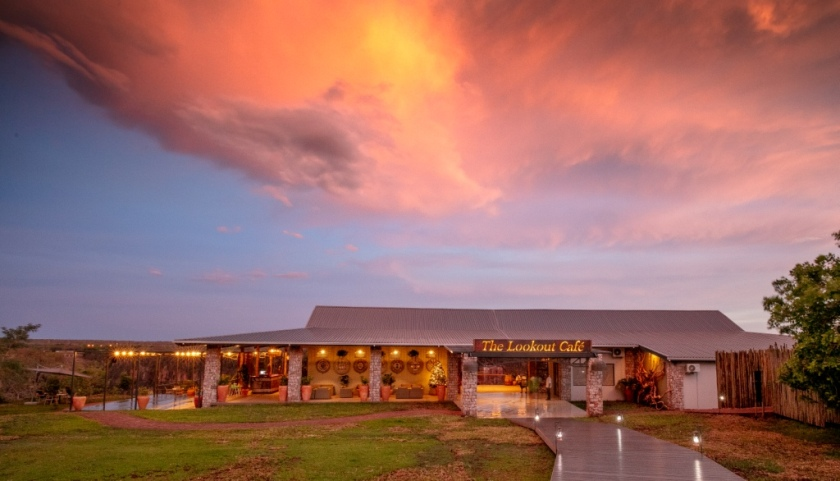 The Lookout Cafe in Victoria Falls - Zimbabwe