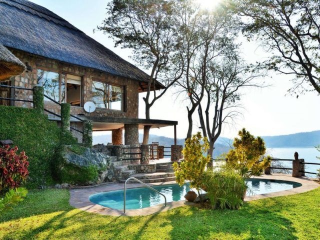 Masumu Lodge on the Binga side of Lake Kariba, Zimbabwe