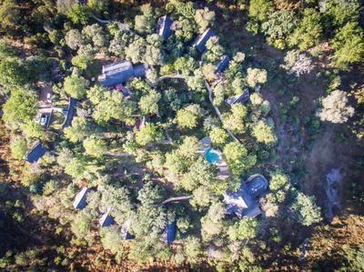 Masuwe Lodge - bird's eye view