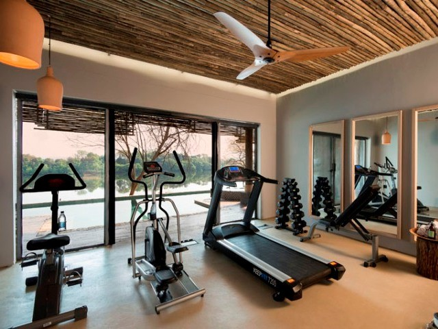 ...fitness room and more