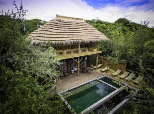 Chobe Bakwena Lodge near Chobe National Park, Botswana