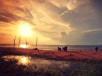 Sunset on the Lake Kariba at Bumi Hills Safari Lodge