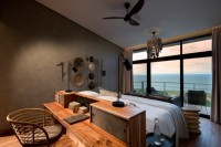 View of the lake from a luxurious suite at Bumi Hills Safari Lodge on the Lake Kariba - Zimbabwe